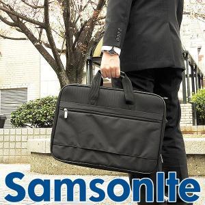 SAMSONITE サムソナイト ビジネスバッグ 43269-1041 海外モデル メンズ 男性用 バッグ ブラック 黒 ショルダー|tokeiten