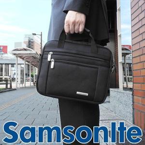 SAMSONITE サムソナイト 43272-1041 海外モデル メンズ バッグ ブリーフケース 鞄 ビジネス 出張 黒 ブラック 2way 小さいサイズ ショルダー|tokeiten