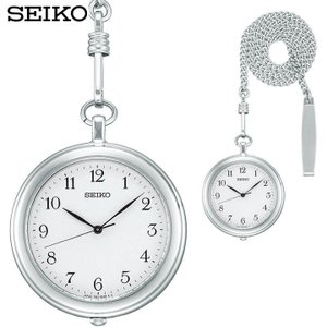 SEIKO セイコー 懐中時計 ペンダント ポケットウォッチ SAPP007 メンズ 国内正規品 白 ホワイト 銀 シルバー tokeiten