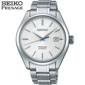 クオカード付 PRESAGE プレザージュ SEIKO セイコー SARX055 プレステージライン アナログ メンズ 腕時計 レビュー7年保証 国内正規品 シルバー チタン メタル|tokeiten