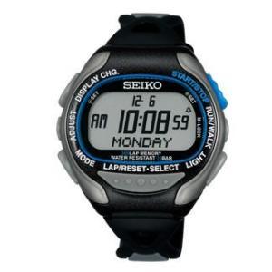 ランニングウォッチ SEIKOプロスペックスPROSPEX スーパーランナーズEX SBDH001ブラック/セイコーの本格派ランナーズウォッチ 腕時計