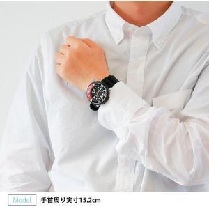 ボトル付 PROSPEX プロスペックス SEIKO セイコー ソーラー SBDN053 ダイバースキューバ メンズ 腕時計 国内正規品 黒 ブラック 赤 レッド シリコン|tokeiten|02