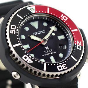 ボトル付 PROSPEX プロスペックス SEIKO セイコー ソーラー SBDN053 ダイバースキューバ メンズ 腕時計 国内正規品 黒 ブラック 赤 レッド シリコン|tokeiten|06
