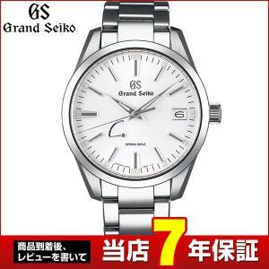 ポイント最大36倍 SEIKO セイコー Grand SEIKO グランドセイコー スプリングドライブ SBGA299 国内正規品 メンズ 腕時計 白 ホワイト メタル|tokeiten