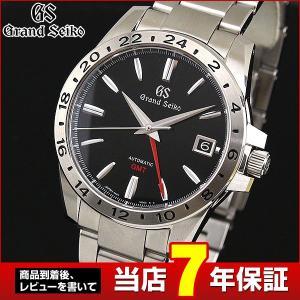 ポイント最大36倍 SEIKO セイコー GRAND SEIKO グランドセイコー 機械式 メカニカル 自動巻き SBGM227 国内正規品 アナログ 腕時計 ブラック シルバー|tokeiten