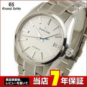 SEIKO セイコー GRAND SEIKO グランドセイコー 機械式 メカニカル 自動巻き SBGR259 国内正規品 アナログ メンズ 腕時計  銀 シルバー ベージュ|tokeiten
