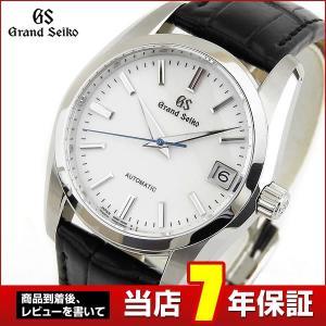 ポイント最大36倍 GRAND SEIKO グランドセイコー メカニカル 自動巻き SBGR287 腕時計時計 国内正規品 黒革 ベルト クロコダイル|tokeiten