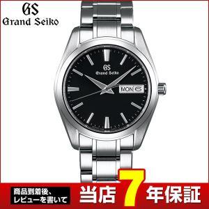 SEIKO セイコー Grand SEIKO グランドセイコー クオーツ SBGT237 国内正規品 メンズ 腕時計 シルバー ブラック メタル バンド|tokeiten