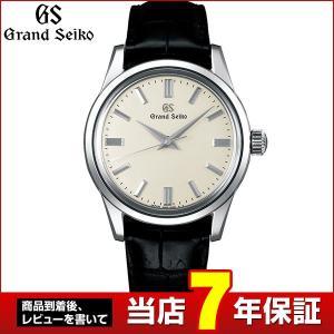 ポイント最大36倍 SEIKO セイコー GRAND SEIKO グランドセイコー 機械式 メカニカル 手巻き SBGW231 国内正規品 メンズ 腕時計 黒 ブラック ベージュ|tokeiten
