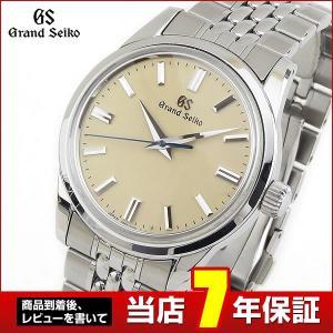 ポイント最大36倍 SEIKO セイコー GRAND グランドセイコー 機械式 メカニカル 手巻き SBGW235 国内正規品 アナログ メンズ 腕時計 銀 シルバー ベージュ|tokeiten