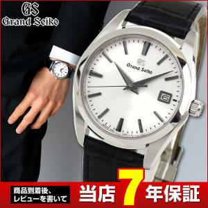 ポイント最大36倍 Grand SEIKO グランドセイコー SBGX295 国内正規品 メンズ 男性用 腕時計 白 黒 ブラック レザー 革バンド|tokeiten