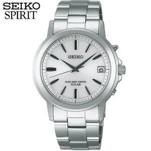 ポイント最大27倍 レビュー7年保証 セイコー スピリット 腕時計 SEIKO SPIRIT 電波ソーラー 電波 ソーラー メンズ SBTM167 国内正規品 ホワイト シルバー バンド|tokeiten