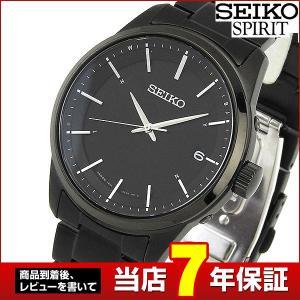 ポイント最大26倍 レビュー7年保証 SEIKO セイコー SPIRIT スピリット 電波ソーラー SBTM235 国内正規品 メンズ 腕時計 黒 ブラック tokeiten