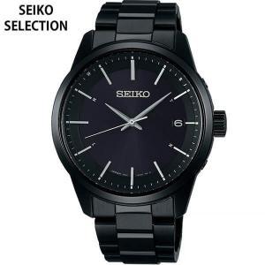 先行予約受付中  セイコーセレクション SEIKO セイコー 電波ソーラー SBTM257 メンズ 腕時計 レビュー7年保証 国内正規品 ブラック メタル tokeiten