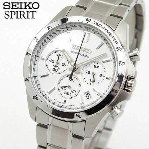 ポイント最大27倍 レビュー7年保証 セイコー スピリット 腕時計 SEIKO SPIRITメンズ クロノグラフ クオーツ SBTR009 国内正規品 シルバー メタル バンド|tokeiten