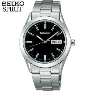 ポイント最大27倍 レビュー7年保証 セイコー スピリット 腕時計 SEIKO SPIRIT クオーツ SCDC085 国内正規品 メンズ 男性用 黒 ブラック メタル バンド|tokeiten