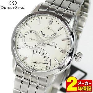 ORIENT オリエント ORIENT STAR オリエントスター 機械式 メカニカル 自動巻き 多機能 SDE00002W0 正規海外モデル アナログ メンズ 腕時計 ウォッチ 銀 シルバー|tokeiten