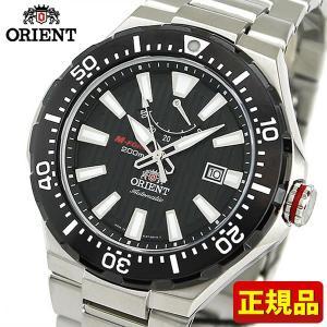 ORIENT オリエント M-FORCE エムフォース SEL07002B0 海外モデル メンズ 腕時計 メタル バンド 機械式 メカニカル 自動巻き 黒 ブラック 銀 シルバー|tokeiten