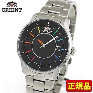 ORIENT オリエント STYLISH AND SMART スタイリッシュスマート メカニカル SER0200EW0 海外モデル メンズ 腕時計 ブラック レインボー メタル バンド|tokeiten