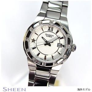 カシオ シーン CASIO SHEEN 海外モデル レディース 腕時計 SHE-4500D-7A|tokeiten