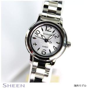 カシオ シーン CASIO SHEEN 海外モデル ソーラー レディース 腕時計 SHE-4502SBD-7A|tokeiten
