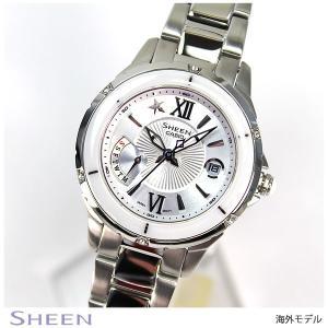 カシオ シーン CASIO SHEEN 海外モデル レディース 腕時計 SHE-4505D-7A|tokeiten