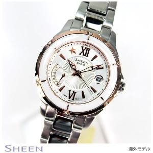 カシオ シーン CASIO SHEEN 海外モデル レディース 腕時計 SHE-4505SG-7A|tokeiten