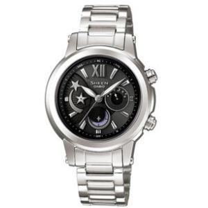 カシオ シーン SHEEN CASIO 電波 ソーラー レディース 腕時計 SHN-7501D-1AJF|tokeiten