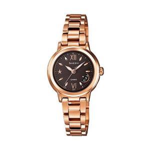カシオ シーン SHEEN CASIO 電波 ソーラー レディース 腕時計 SHW-1500BG-5AJF|tokeiten