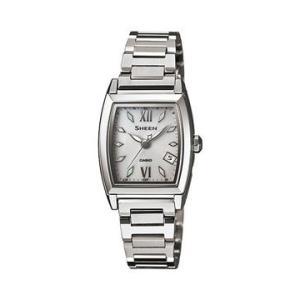 カシオ シーン CASIO SHEEN 電波 ソーラー ホワイト系 レディース 腕時計 SHW-1503D-7AJF|tokeiten