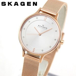 SKAGEN スカーゲン SKW2151 ANITA アニタ アナログ レディース 腕時計 海外モデル ピンクゴールド  ローズゴールド  銀 シルバー メタル|tokeiten