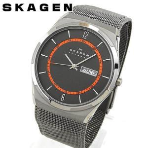 SKAGEN スカーゲン SKW6007 海外モデル アナログ メンズ 男性用 腕時計 ウォッチ 銀 シルバー チタン メタル バンド|tokeiten