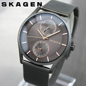 SKAGEN スカーゲン SKW6180 海外モデル ホルスト マルチファンクション アナログ メンズ 腕時計 金 ピンクゴールド グレー メタル バンド|tokeiten