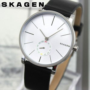 SKAGEN スカーゲン SKW6274 HAGEN ハーゲン 海外モデル アナログ メンズ 腕時計 ウォッチ 黒 ブラック 銀 シルバー 革バンド レザー|tokeiten