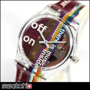 スウォッチ swatch JINGLEME 腕時計 ユニセックス メンズ レディース SLK118|tokeiten