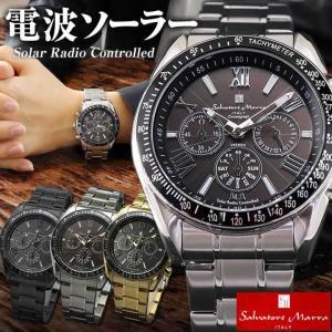 サルバトーレ マーラ サルバトーレマーラ Salvatore Marra SM15116 電波時計 ソーラー クロノグラフ メンズ 腕時計 国内正規品|tokeiten