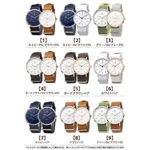 ペアBOX付 サルバトーレマーラ Salvatore Marra SM15117 ペアウォッチ カップル メンズ レディース 腕時計 ホワイト tokeiten 02