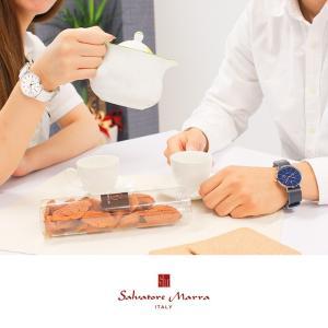ペアBOX付 サルバトーレマーラ Salvatore Marra SM15117 ペアウォッチ カップル メンズ レディース 腕時計 ホワイト tokeiten 08