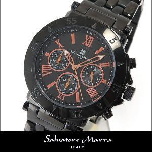 Salvatore Marra サルバトーレマーラ メンズ 腕時計 SM9028-IPBKPG ブラック 黒 クロノグラフ ウオッチ 時計 新品 国内正規品 tokeiten