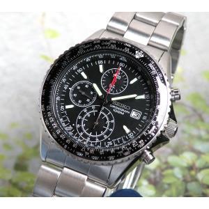 セイコー 腕時計 レビュー7年保証 逆輸入 クロノグラフ 腕時計 SND253PC セイコー SEIKO 正規海外モデル ギフト 贈り物|tokeiten|02