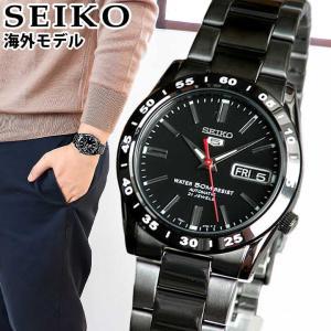 SEIKO 逆輸入 セイコー5 ファイブ SNKE03KC メンズ 腕時計 海外モデル ブラック 黒 誕生日プレゼント 男性|tokeiten