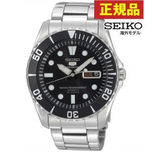 ポイント最大26倍 セイコー SEIKO 5 ファイブスポーツ SNZF17JC SNZF17J1 ブラック 黒 シルバー 日本製ムーブメント 正規海外モデル 自動巻き メンズ 腕時計|tokeiten