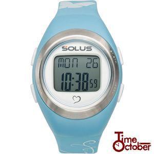 ポイント最大35倍 スポーツ ランニング 腕時計 メンズ レディース ソーラス SOLUS 01-800-03 ライトブルー|tokeiten