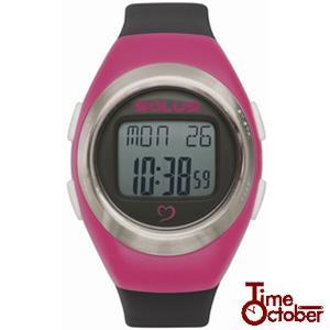 ポイント最大35倍 スポーツ ランニング 腕時計 メンズ レディース ソーラス SOLUS 01-800-206 ピンク×ブラック|tokeiten