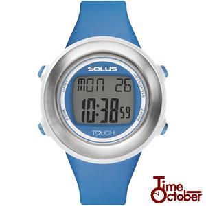 ポイント最大35倍 スポーツ ランニング 腕時計 メンズ レディース ソーラス SOLUS 01-850-005 ブルー|tokeiten