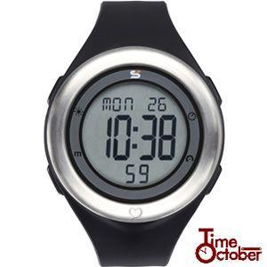 ポイント最大35倍 スポーツ ランニング 腕時計 メンズ レディース ソーラス SOLUS 01-910-001 ブラック|tokeiten