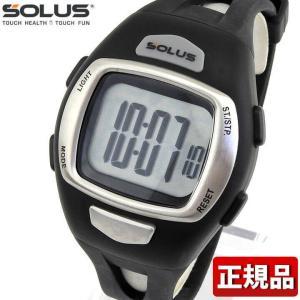SOLUS ソーラス 01-930-001 国内正規品 デジタル メンズ 腕時計 黒 ブラック ウレタン バンド ランニング スポーツ tokeiten