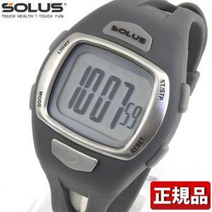 SOLUS ソーラス 01-930-003 国内正規品 デジタル メンズ 腕時計 白系 グレー ウレタン バンド ランニング スポーツ|tokeiten