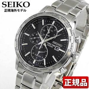 SEIKO セイコー SPL049P1 SPL049PC正規海外モデル アナログ メンズ 男性用 腕時計 白 ホワイト 黒 ブラック メタル バンド|tokeiten