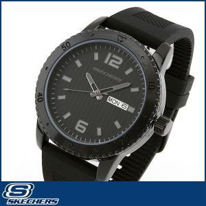 Skechers スケッチャーズ SR5000 海外モデル メンズ 男性用 腕時計 ウォッチ 黒 ブラック カジュアル|tokeiten